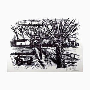 Bernard Buffet - Britain Landscape - Original Hand Signed Lithograph