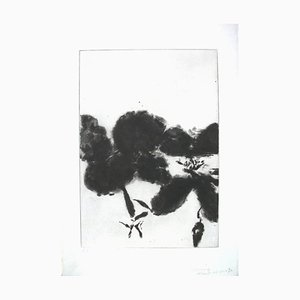 Zao Wou-Ki - Shakespeare Sonnets - Unique Hand-Signed 7 Etchings, 7 Bons A Tirer 1984
