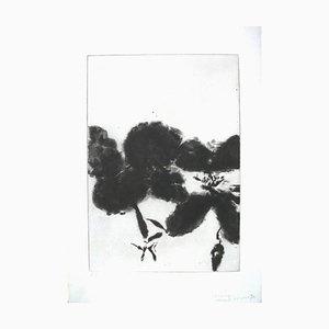 Zao Wou-Ki - Sonetti shakespeariani - Unico inciso a mano con 7 incisioni, 7 Bons A Tirer 1984