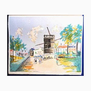Maurice Utrillo - Illustrated With 13 Original Lithographs