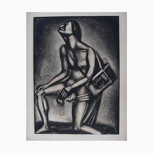 Georges Rouault - La Vie est un Torrent - Original Engraving