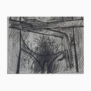 Bernard Buffet - L'Homme Est Nu - Original Signed Lithograph 1952