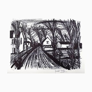 Bernard Buffet - Farm Road - Original Hand Signed Lithograph