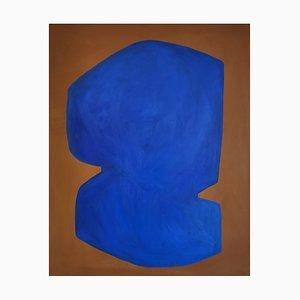 Virginie Hucher - Eclipse Bleue - Original Painting 2020