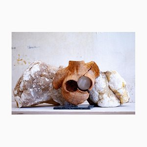 Derose - Baigneuse au Cœur Blanc - Original Sculpture 2020