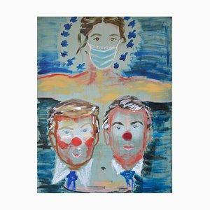 Deborah Gad - Les Saints d'aujourd'hui - Original Painting 2020