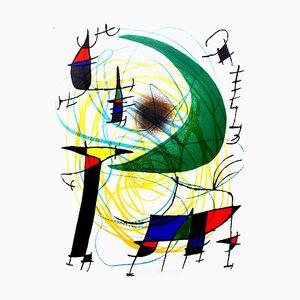 Joan Miro - Original Abstract Lithografie 1981