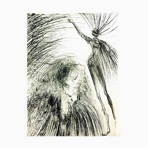Salvador Dali - Old Faust - Original Etching 1969