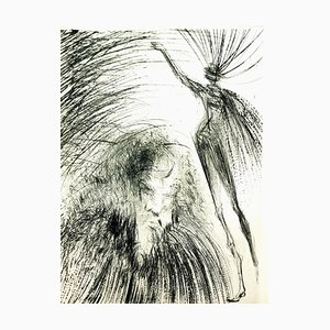 Salvador Dali - Old Faust - Original Radierung 1969