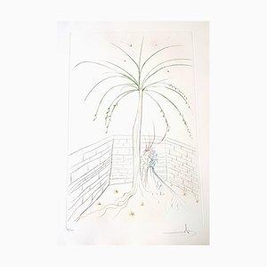 Gravure à l'Eau-Forte Signée par Salvador Dali - The First Meeting - Original 1975