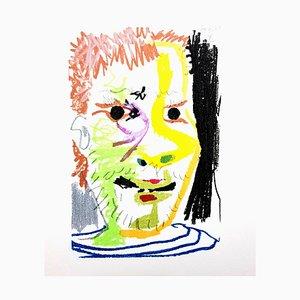 Le Goût de Bonheur: une assiette - Colorful Portrait 1970