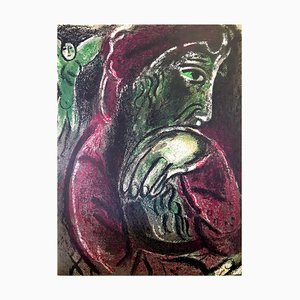 Marc Chagall - The Bible - Job - Original Lithograph 1960