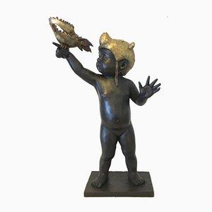 Alles ist möglich - Bronze - Signierte Skulptur - Francesca Dalla Benetta 2018