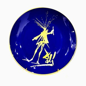 Faust - Limoges Porcelain Blue and Gold 1968