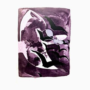 Georges Braque - Birds Freedom - Original Lithograph 1964