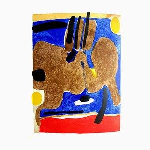 Lithographie Maurice Estève - Composition - Lithographie Originale, 1964