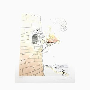 Salvador Dali - The Grand Inquisitor - Signierte Originale Gravur 1974