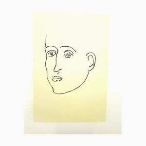 Original Lithograph - Henri Matisse - Apollinaire 1952