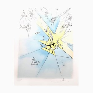 Salvador Dali - The Grand Inquisitor - Original Signed Engraving 1974