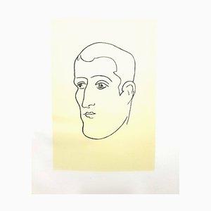 Litografía original - Henri Matisse - Apollinaire 1952