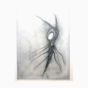 Fred Deux - Cosmic Root - Sérigraphie Signée Originale