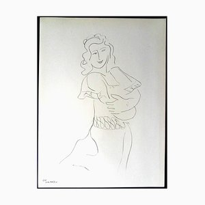 Henri Matisse (After) - Lithograph - Dancer 1943