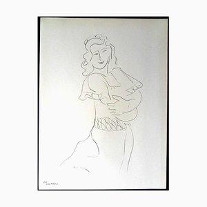 Henri Matisse (After) - Lithographie - Dancer 1943