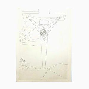 Salvador Dali - Christ - Radierung 1951
