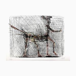 César - Centaur - Homenaje a Picasso - Original firmado, 1985