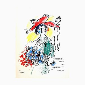 Marc Chagall - Cover - Original Lithograph 1964