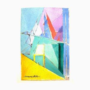 Jacques Villon - Composition - Lithograph Reproduction 1964
