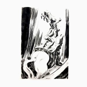 Jean Gabriel Daragnès - Circus - Original Etching 1946