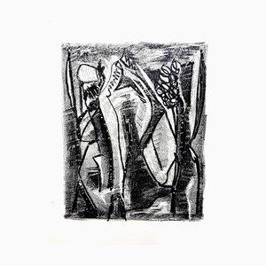 Jean-Michel Atlan - Kafka - Original Lithographie von 1946