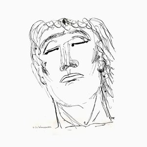 Henry de Waroquier - Portrait - Gravure Originale 1946