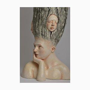 Wer bin ich? - Unikat Signierte Skulptur - Francesca Dalla Benetta 2018