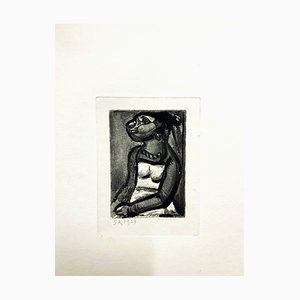 Georges Rouault - Original Engraving - Ubu the King 1929