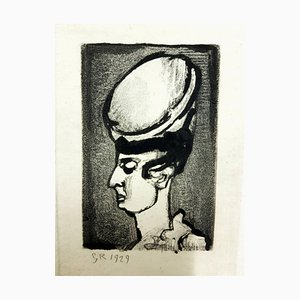 Gravure Originale Gravure Originale par Georges Rouault - Ubu the King 1929