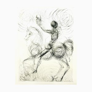 Salvador Dali - Knight & Death, aus '' Faust '' 1969