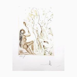 Decameron - Mappe mit 10 signierten Originalen von Salvador Dali 1972