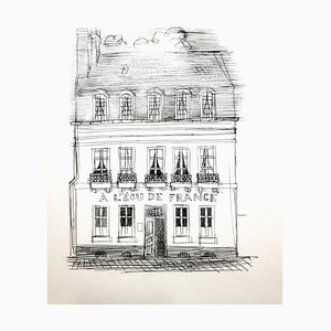 Raoul Dufy - A L'Ecu de France - Originale Radierung 1940