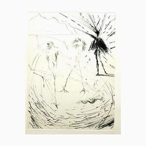 Salvador Dali - Women - Original Radierung 1969