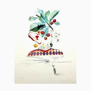 Salvador Dali - Kirschen - Original Handsignierte Lithographie 1969