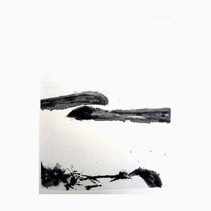 Zao Wou-ki - Moments - Original Aquatinta mit Handsignierter Begründung 1996