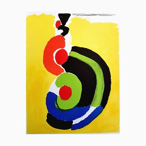 Sonia Delaunay - Composition - Original Lithograph 1972