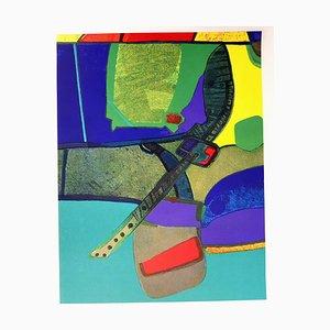 Maurice Estève - Composition - Original Lithografie 1964