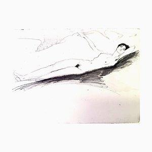 Jean Gabriel Domergue - Lying Naked - Original Radierung 1924