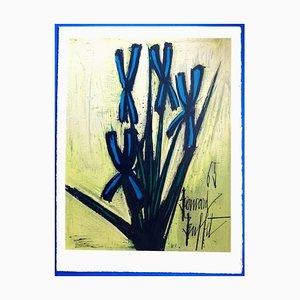 Bernard Buffet - Flowers - Litografia, 1965