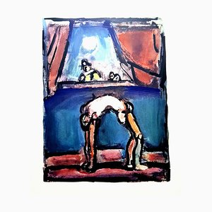 After Georges Rouault - Acrobat - Lithograph 1943