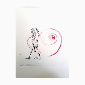 After Henri Michaux - Moments - Original Aquatint 1996