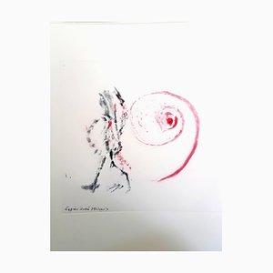 Nach Henri Michaux - Moments - Original Aquatinta 1996